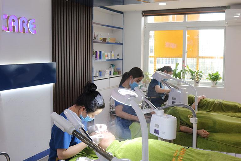 Viện Da liễu Hà Nội - Sài Gòn là cơ sở trị sẹo rỗ, sẹo lõm uy tín hàng đầu