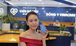 Làn da của chị Trang sau thời gian điều trị tại Viện Da liễu Hà Nội - Sài Gòn